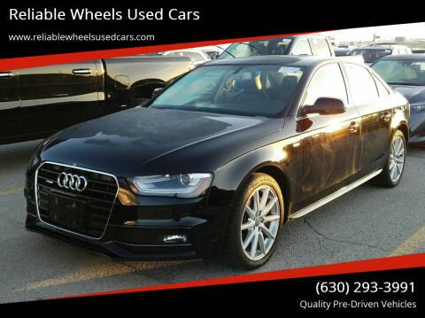 2015 Audi A4 for sale at Reliable Wheels Used Cars in West Chicago IL