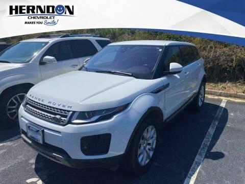2019 Land Rover Range Rover Evoque for sale at Herndon Chevrolet in Lexington SC