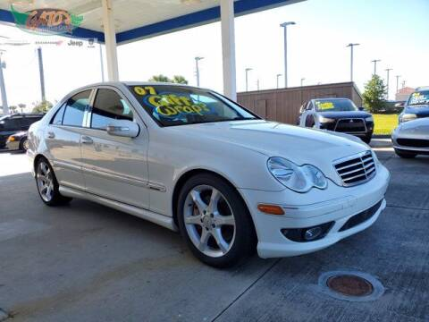 2007 Mercedes-Benz C-Class for sale at GATOR'S IMPORT SUPERSTORE in Melbourne FL