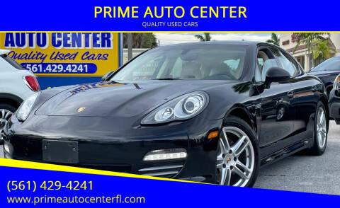 2013 Porsche Panamera for sale at PRIME AUTO CENTER in Palm Springs FL