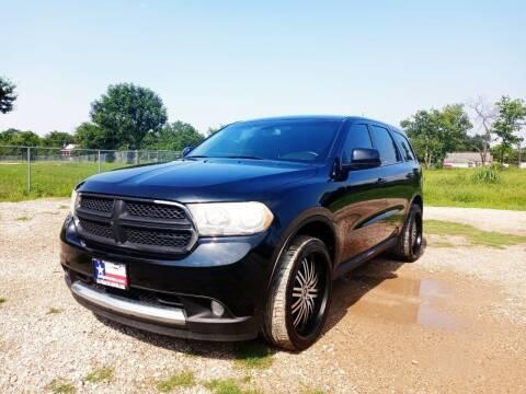 2013 Dodge Durango for sale at LA PULGA DE AUTOS in Dallas TX