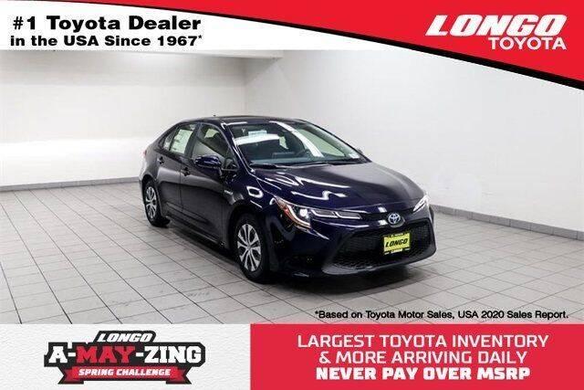 2021 Toyota Corolla Hybrid for sale in El Monte, CA