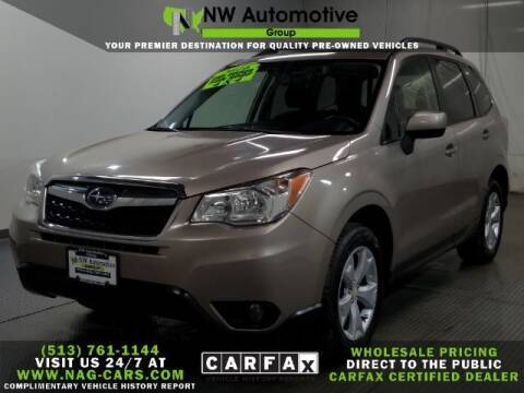 2016 Subaru Forester for sale at NW Automotive Group in Cincinnati OH