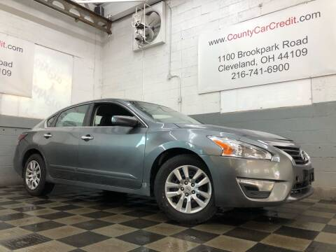 2015 Nissan Altima for sale at County Car Credit in Cleveland OH