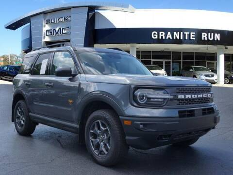 2021 Ford Bronco Sport for sale at GRANITE RUN PRE OWNED CAR AND TRUCK OUTLET in Media PA