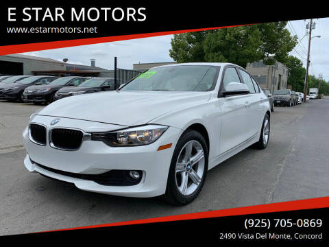 2015 BMW 3 Series for sale at E STAR MOTORS in Concord CA