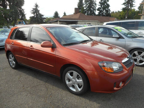 2008 Kia Spectra for sale at Lino's Autos Inc in Vancouver WA