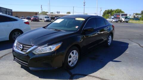 2017 Nissan Altima for sale at Nelson Car Country in Bixby OK