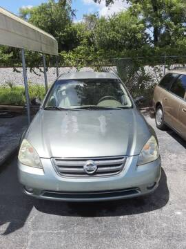2003 Nissan Altima for sale at Easy Credit Auto Sales in Cocoa FL