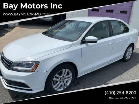 2018 Volkswagen Jetta for sale at Bay Motors Inc in Baltimore MD