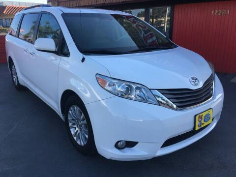 2014 Toyota Sienna for sale at CARSTER in Huntington Beach CA