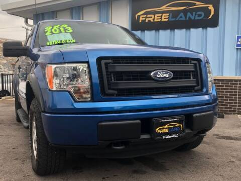 2013 Ford F-150 for sale at Freeland LLC in Waukesha WI