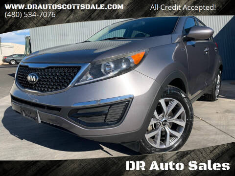2014 Kia Sportage for sale at DR Auto Sales in Scottsdale AZ