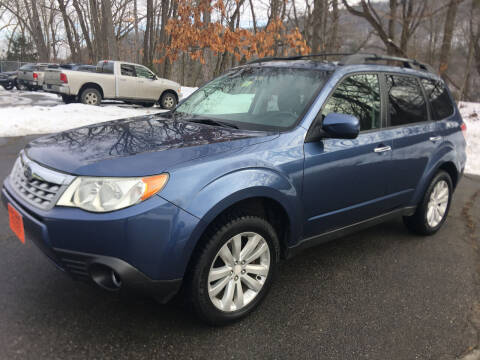 2012 Subaru Forester for sale at BRATTLEBORO AUTO SALES in Brattleboro VT