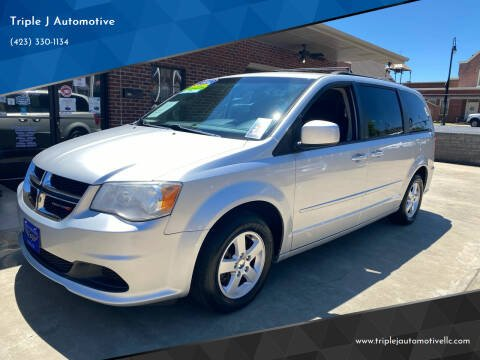 2012 Dodge Grand Caravan for sale at Triple J Automotive in Erwin TN
