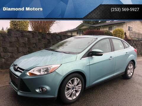 2012 Ford Focus for sale at Diamond Motors in Lakewood WA