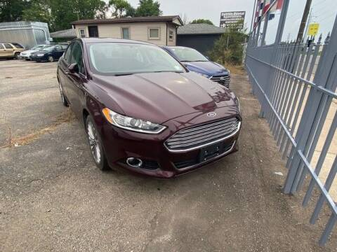 2013 Ford Fusion for sale at Car Depot in Detroit MI