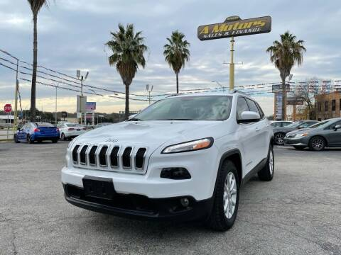 2015 Jeep Cherokee for sale at A MOTORS SALES AND FINANCE - 10110 West Loop 1604 N in San Antonio TX