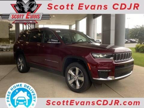 2021 Jeep Grand Cherokee L for sale at SCOTT EVANS CHRYSLER DODGE in Carrollton GA
