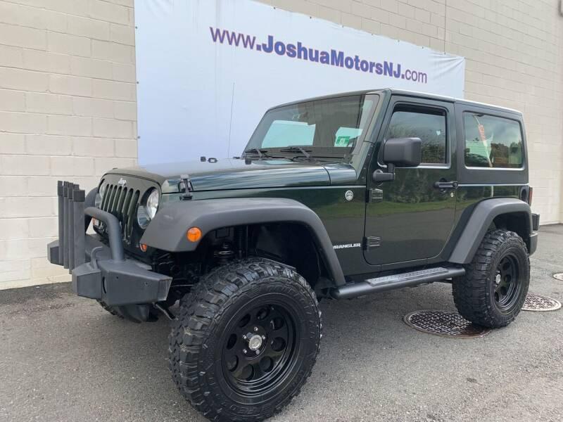 2011 Jeep Wrangler for sale at JOSHUA MOTORS in Vineland NJ