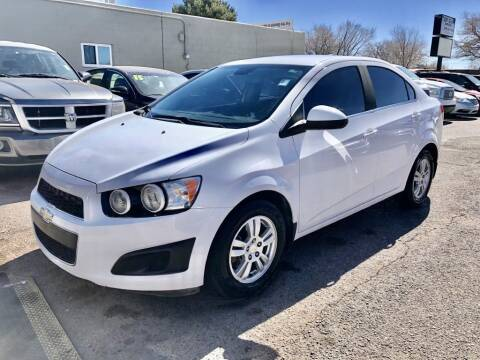 2015 Chevrolet Sonic for sale at Top Gun Auto Sales, LLC in Albuquerque NM