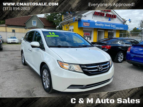 2014 Honda Odyssey for sale at C & M Auto Sales in Detroit MI