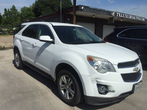 2011 Chevrolet Equinox for sale at Texas Luxury Auto in Houston TX