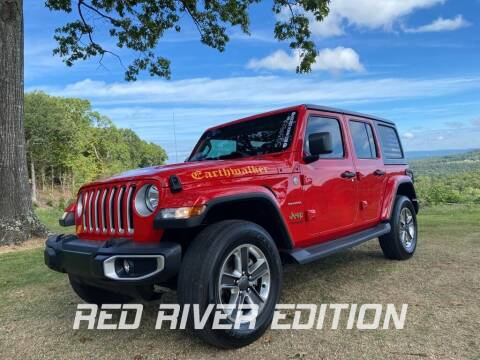 2019 Jeep Wrangler Unlimited for sale at RED RIVER DODGE - Red River of Malvern in Malvern AR