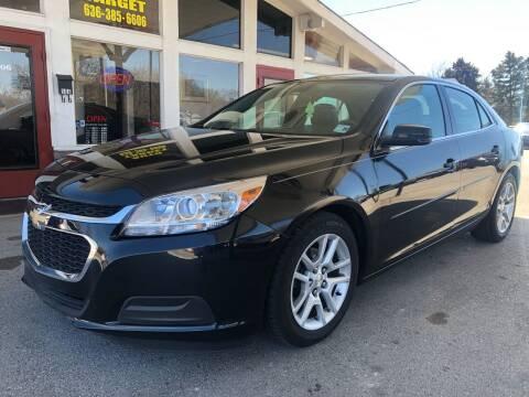 2015 Chevrolet Malibu for sale at Auto Target in O'Fallon MO