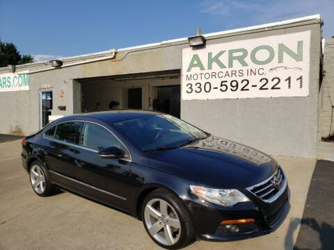 2012 Volkswagen CC for sale at Akron Motorcars Inc. in Akron OH