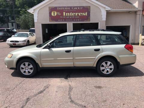 2005 Subaru Outback for sale at Imperial Group in Sioux Falls SD