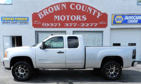 2012 GMC Sierra 1500 for sale at Brown County Motors in Russellville OH