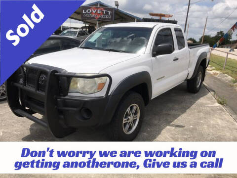 2011 Toyota Tacoma for sale at RIVERCITYAUTOFINANCE.COM in New Braunfels TX