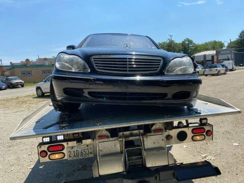 2001 Mercedes-Benz S-Class for sale at Downers Grove Motor Sales in Downers Grove IL