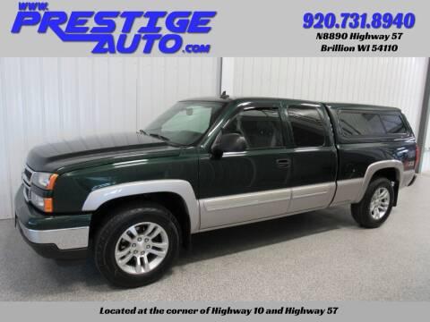 2006 Chevrolet Silverado 1500 for sale at Prestige Auto Sales in Brillion WI