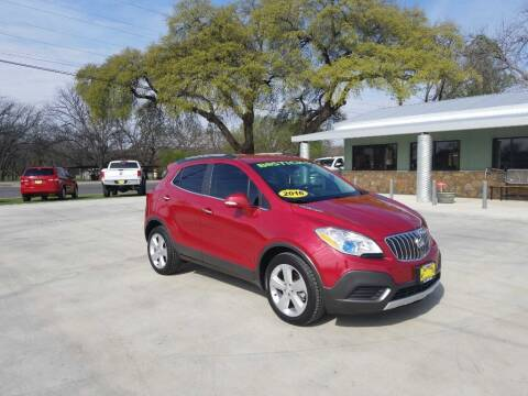 2016 Buick Encore for sale at Bostick's Auto & Truck Sales LLC in Brownwood TX