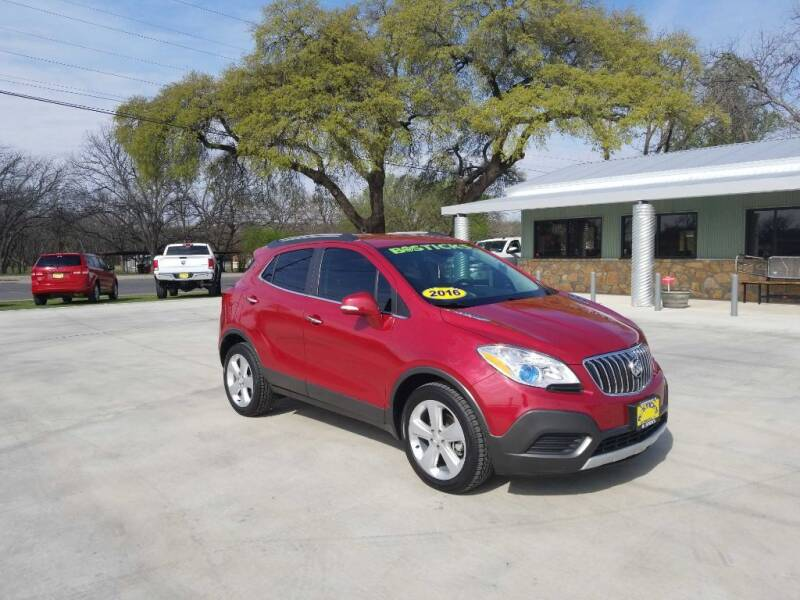 2016 Buick Encore for sale at Bostick's Auto & Truck Sales in Brownwood TX