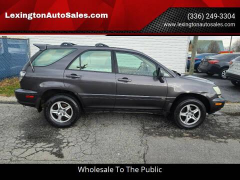 2002 Lexus RX 300 for sale at LexingtonAutoSales.com in Lexington NC