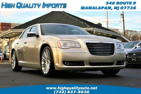 2012 Chrysler 300 for sale at High Quality Imports in Manalapan NJ