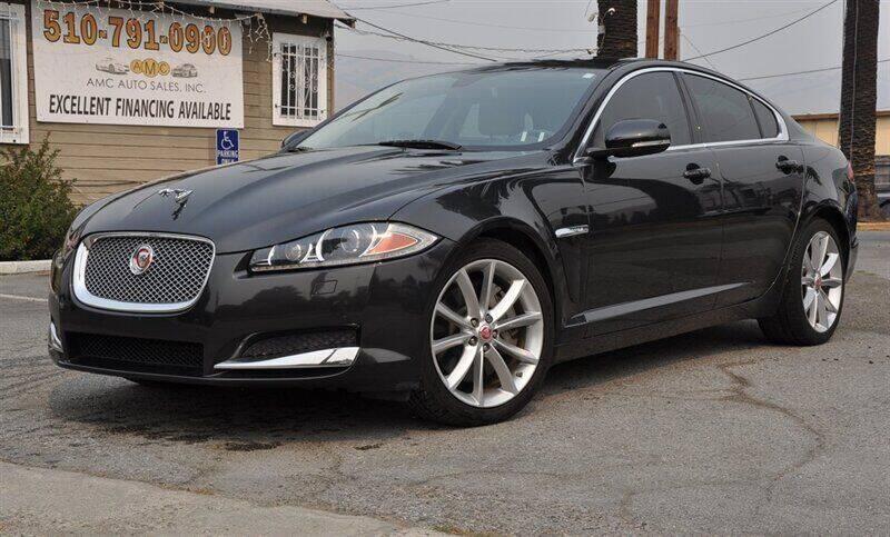 2014 Jaguar XF for sale at AMC Auto Sales, Inc. in Fremont CA
