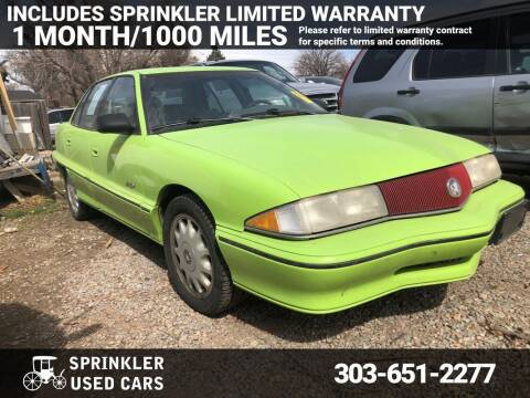 1993 Buick Skylark for sale at Sprinkler Used Cars in Longmont CO