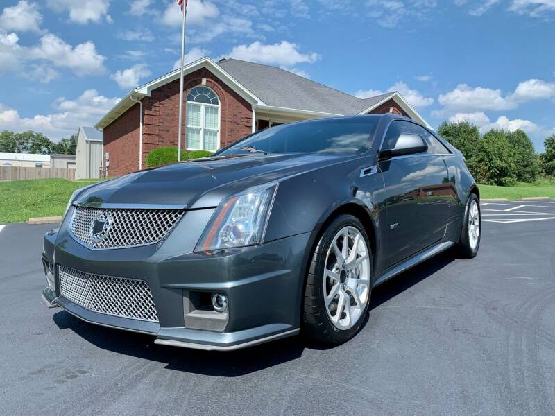2013 Cadillac CTS-V for sale at HillView Motors in Shepherdsville KY