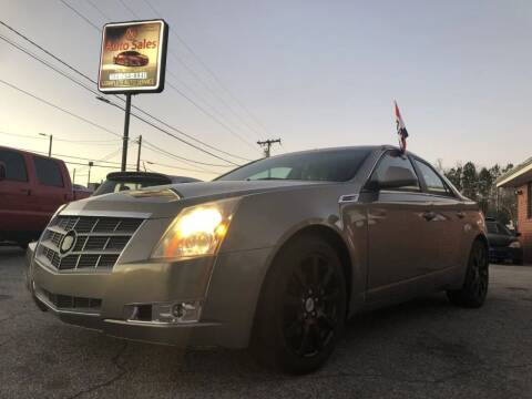 2008 Cadillac CTS for sale at T.K. AUTO SALES LLC in Salisbury NC