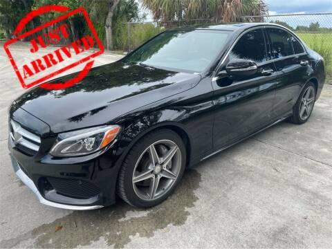 2015 Mercedes-Benz C-Class for sale at Florida Fine Cars - West Palm Beach in West Palm Beach FL