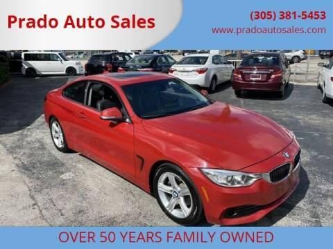 2015 BMW 4 Series for sale at Prado Auto Sales in Miami FL