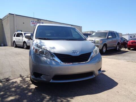2014 Toyota Sienna for sale at ACH AutoHaus in Dallas TX