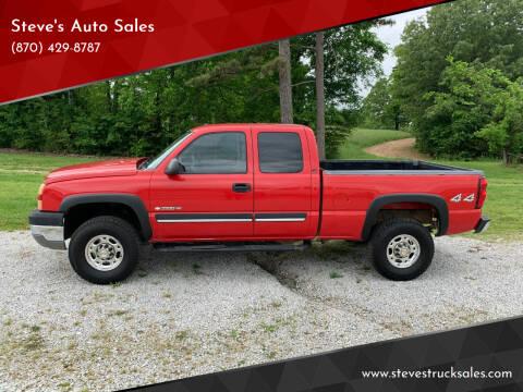 2005 Chevrolet Silverado 2500HD for sale at Steve's Auto Sales in Harrison AR