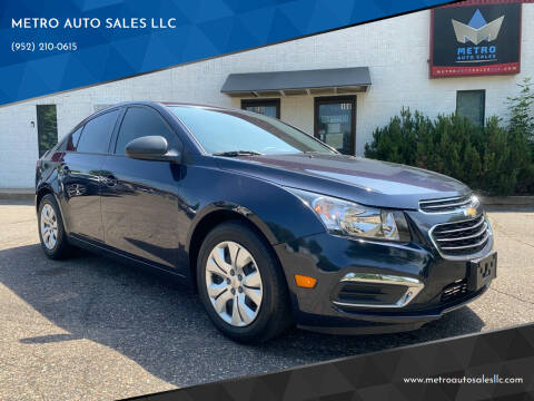2016 Chevrolet Cruze Limited for sale at METRO AUTO SALES LLC in Blaine MN