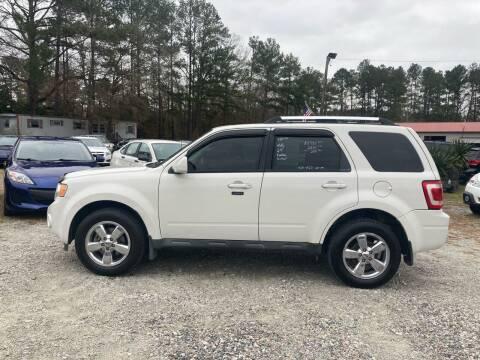 2011 Ford Escape for sale at Joye & Company INC, in Augusta GA