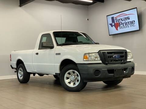 2011 Ford Ranger for sale at Texas Prime Motors in Houston TX